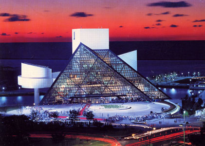 The Rock n' Roll Hall of Fame Cleveland Ohio; taken By Bill Schuemann, Shuemann Architectural Photography