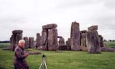 Bill  at Stonehenge